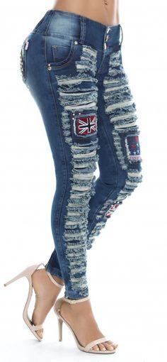 Jeans levanta cola REVEL 56130
