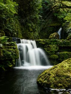 Landscape Pictures, Outdoor, New Zealand, Waterfall, Passion, Places, Life, Outdoors, Scenery Photography