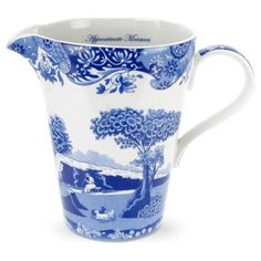 Spode measuring cup - Blue Italian by ophelia