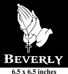 Sticker 8x3 Blessed Car Decal Color Options
