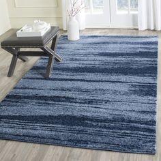 $148.74 Safavieh Retro Light Blue/ Blue Rug (5' x 8')