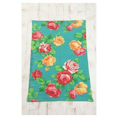 Mexican Roses Rug ($55) ❤ liked on Polyvore
