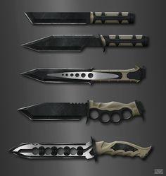 Rolf Bertz knife concepts