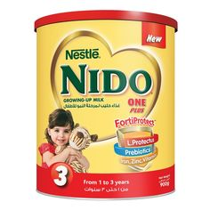 Buy Nestle Nido One Plus Milk Powder With Protectus™ 900 Gm Online in UAE,Abu dhabi, Dubai, Qatar on #Luluwebstore.com