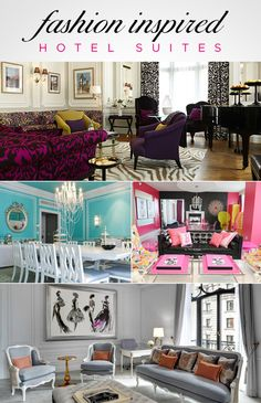 Fashion Inspired Hotel Suites