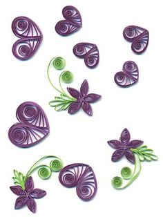 i miss   quilling......