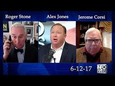 Roger Stone, Jerome Corsi  and Alex Jones Discuss the Deep State and Mue...