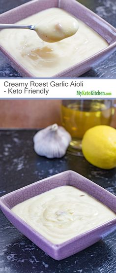 Easy to Make Keto Friendly Roast Garlic Aioli (Gluten Free, Paleo)
