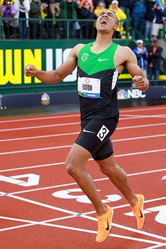 "Ashton Eaton: He set a personal best in the exhausting 1,500-meter finale and is now the world-record holder in the decathlon -- the cream of the crop in the event that determines the world's best athlete.  ""It's like living an entire lifetime in two days,"" Eaton said.  This is an incredible athlete!"