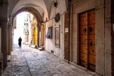 Beauty in Simplicty.. take a long breath from the old town streets of Tunis, Tunisia . Cool Week ahead! Photography by Ridha Gharbi