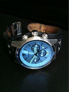 Fossil Herrenuhr  Kaum getragene Herrenuhr. Blaues Deckglas. Zustand: Neuwertig. Orig. Preis 119,- Mit Datumsanzeige und Chronograph.