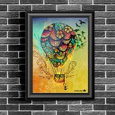 Ilustração: balloOn ~ De duas, uma   Design, Ilustrações e Tattoos