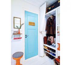 Klein huis vol frisse kleuren