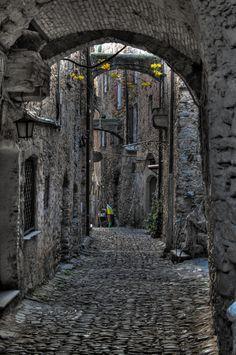 Bussana Vecchia by Marco Falcone, via 500px ~ Liguria, Italia