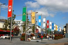 galway ireland images | File:The Tribes of Galway, Eyre Square.jpg - Wikipedia, the free ...