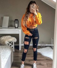 teenager outfits for school . teenager outfits for school cute Cute Teen Outfits, Cute Comfy Outfits, Teenager Outfits, Teen Fashion Outfits, Retro Outfits, Simple Outfits, Look Fashion, Stylish Outfits, Fashion Clothes