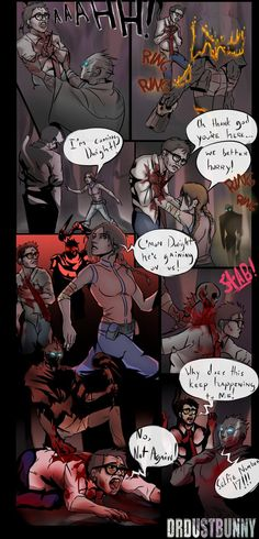 Dead by Daylight - The Cycle of Dwight (Comic) by DrDustBunny.deviantart.com on @DeviantArt