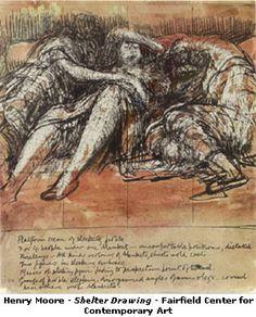 Henry Moore.Anónimo de la Piedra Pinit.