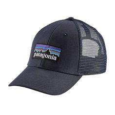 We've spent decades climbing, biking, backpacking and paddling in it: The classic P-6 Logo endures. The hat features a traditional ball-cap fit in a trucker setup: organic cotton bill and crown; polye