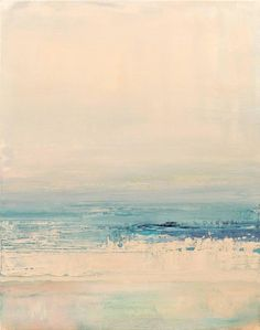 Barbara Sussberg - Tides I Ocean Color Palette, Ocean Colors, Character Design Inspiration, Painting Inspiration, Landscape Paintings, Art Paintings, Landscapes, Abstract Painting Techniques, Palette Knife Painting