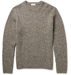 Club MonacoRibbed Donegal Wool-Blend Sweater