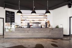 Established Coffee by Terry Design, Belfast – Northern Ireland #counter #blackboard