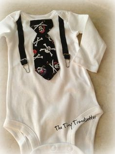 Fashion Rebel One Piece Creeper by TheTinyTrendsetter on Etsy