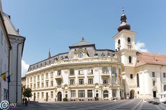 Sibiu Romania, My Photos, Louvre, Mansions, House Styles, Building, Travel, Home Decor, Mansion Houses