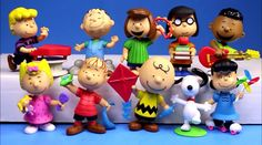 Peanuts Cake Toppers Schroeder Charlie Brown Snoopy Sally Franklin Pigpen Lucy Linus Marcie Peppermint Patty Figure Birthday Wedding