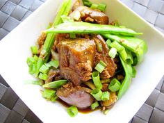 Cha Troap: #Cambodian Eggplant Stir Fry with Turkey and Snow Peas.  A #Khmer treat made even healthier!