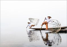 """On Inle Lake Go to http://iBoatCity.com and use code PINTEREST for free shipping on your first order! (Lower 48 USA Only). Sign up for our email newsletter to get your free guide: """"Boat Buyer's Guide for Beginners."""""""