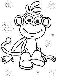 Map Dora The Explorer Coloring Pages Printable Cartoon