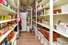 Huge Walk in Pantry, with room for an extra fridge or freezer.