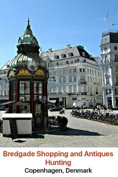 Copenhagen is known as a city of great shopping opportunities, and probably the best place to go for vintage shopping is Bredgade. This is one of the city's most prominent streets and it sits in a very fancy part of town.