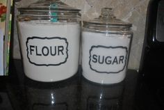 Jar+or+Canister+Vinyl+Tags+for+Home+by+GracefulOfferings+on+Etsy,+$9.99