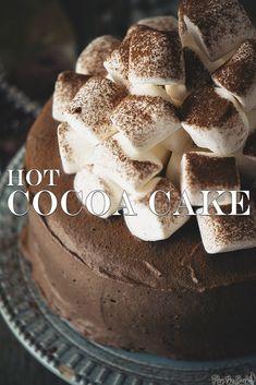 Hot Cocoa Cake | PasstheSushi.com