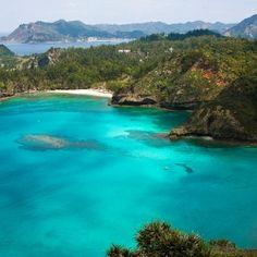 Ogasawara Islands in Japan