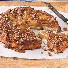 Upside-Down Caramelized Apple Cake