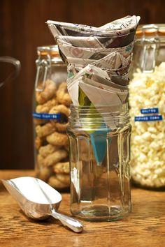 help yourself bar for wedding reception - afterdark