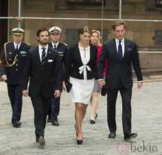 The Swedish Royal Family were all in attendance yesterday for the Opening of Parliament. The day began with an inter-religious service at the Cathedral in Stockholm. In years past, the family has w…