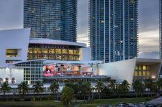 AmericanAirlines Arena NRG Solar Canopy | Architect Magazine | DLR Group, Miami, Florida, Sports