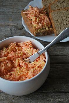 Marchewkowo-serowa pasta do chleba