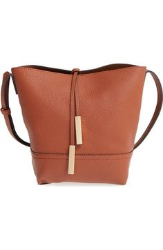 Street Level Faux Leather Bucket Bag available at #Nordstrom