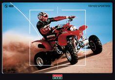 Gráfica Prensa / Honda Motos / TRX400 Sporttrax juannavarro.jnt@gmail.com