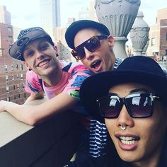 Laganja Estranja, Alyssa Edwards and Gia Gunn