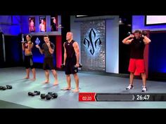 Georges St-Pierre GSP RUSHFIT - Round 5, Full-Body Strength and Conditioning Workout