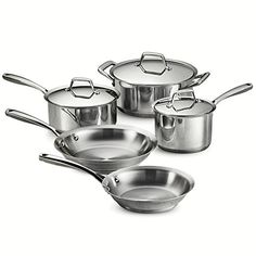 Tramontina 80101201DS Gourmet Prima 8 Piece Cookware Set ** Review more details @