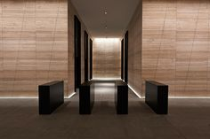 Excellent use of light to add ambience. 171 Collins Street by Electrolight : Lighting Designers : Melbourne Australia