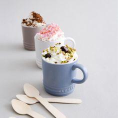 Set de 3 #tazas de @cafe de la Colección #mate de #lecreuset