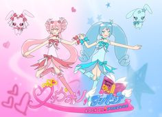 The Second Commercial Poster for Lock On! Precure in the second design.
